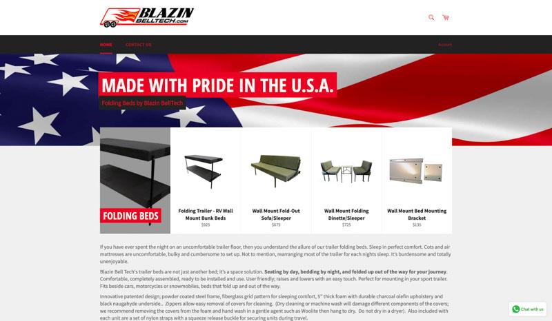 Blazin Bell Tech Website