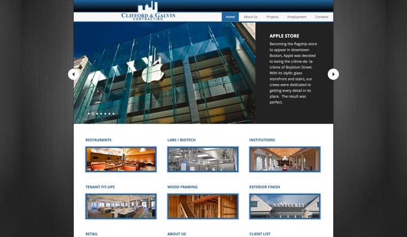 Clifford Galvin Website