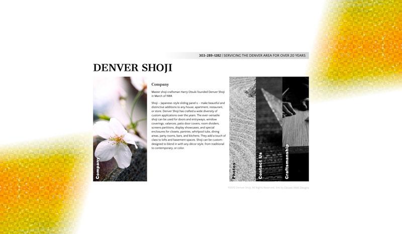 Denver Shoji Website