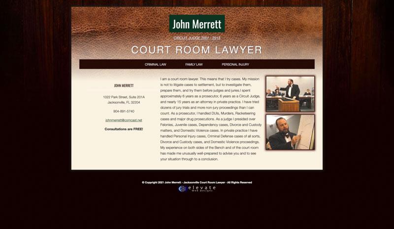 John Merrett Website