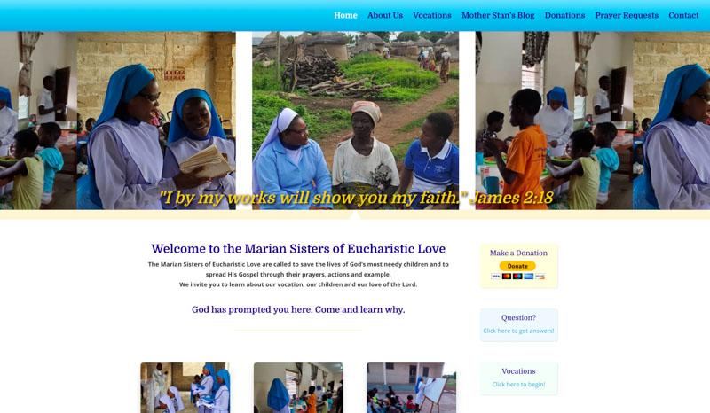 Marian Sisters Website
