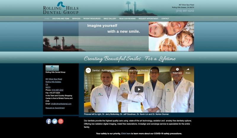 Rolling Hills Dental Website