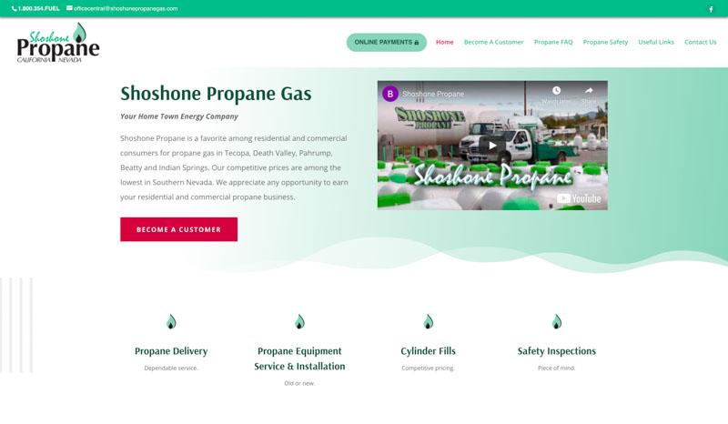 Shoshone Propane Website
