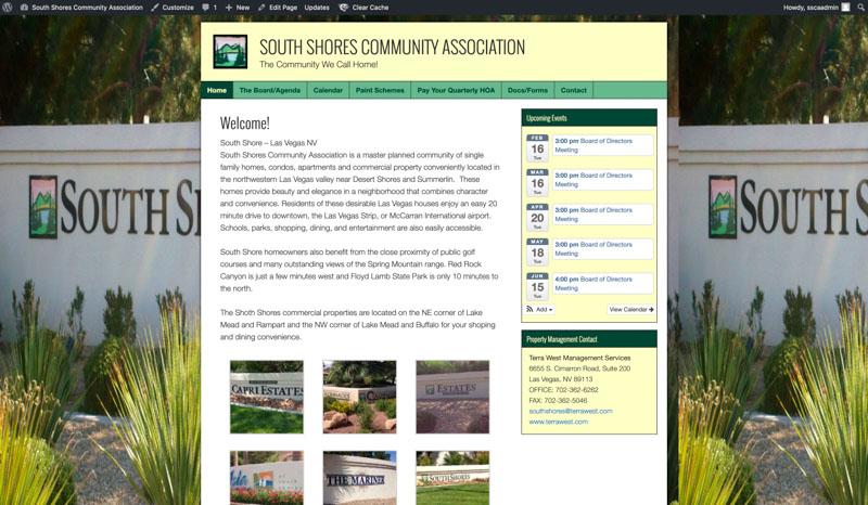 South Shores Website
