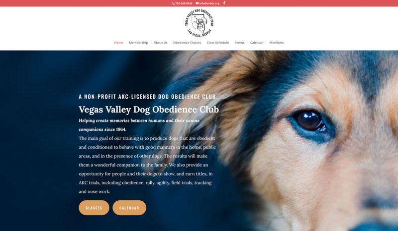 Vegas Valley Dog Club Website