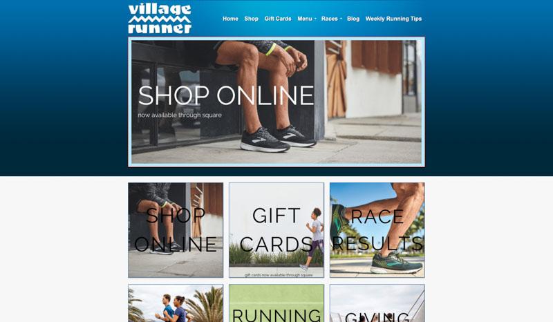 Village Runner Website