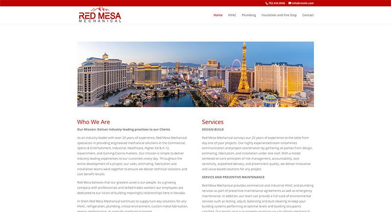 Red Mesa Mechanical Website