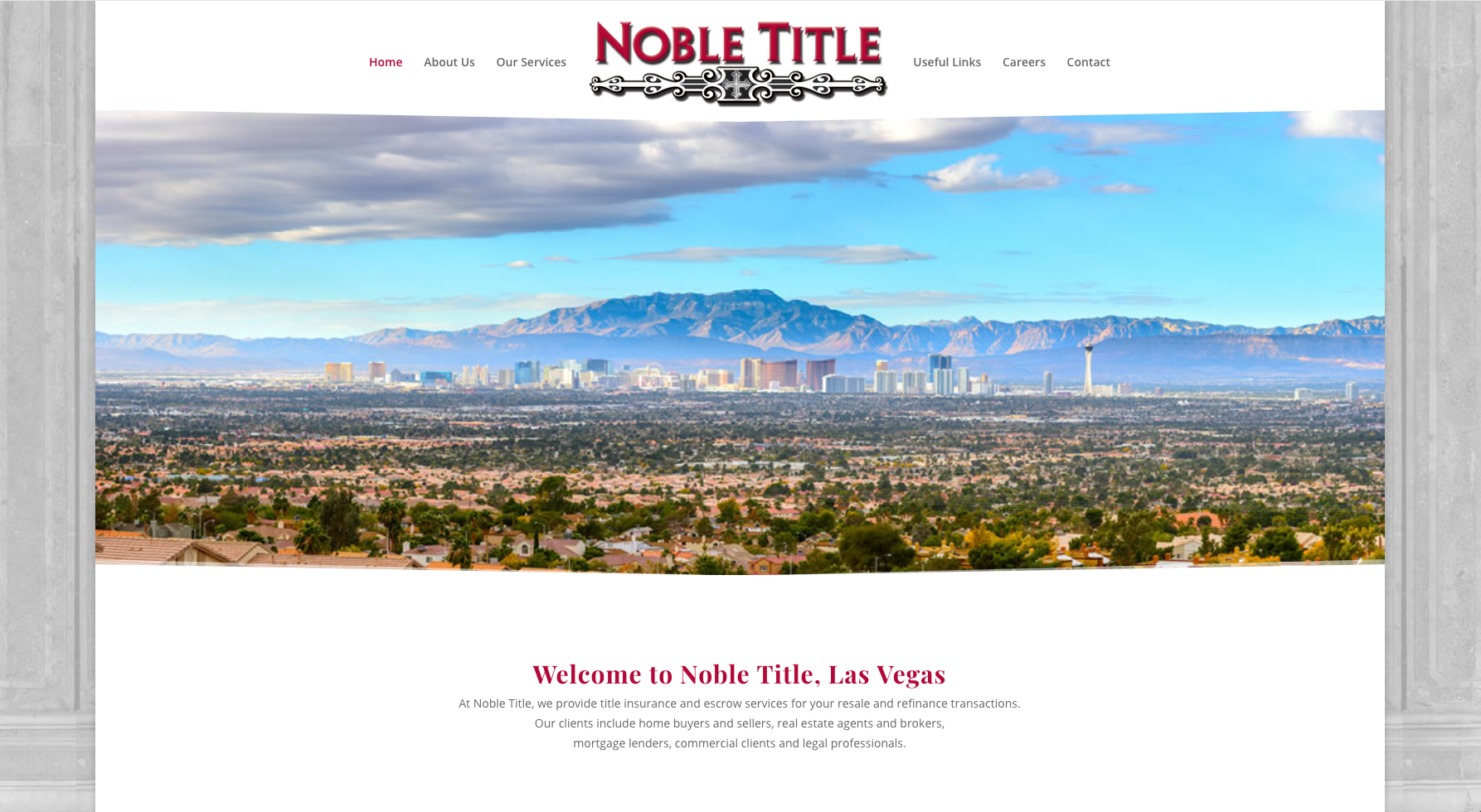Noble Title Website