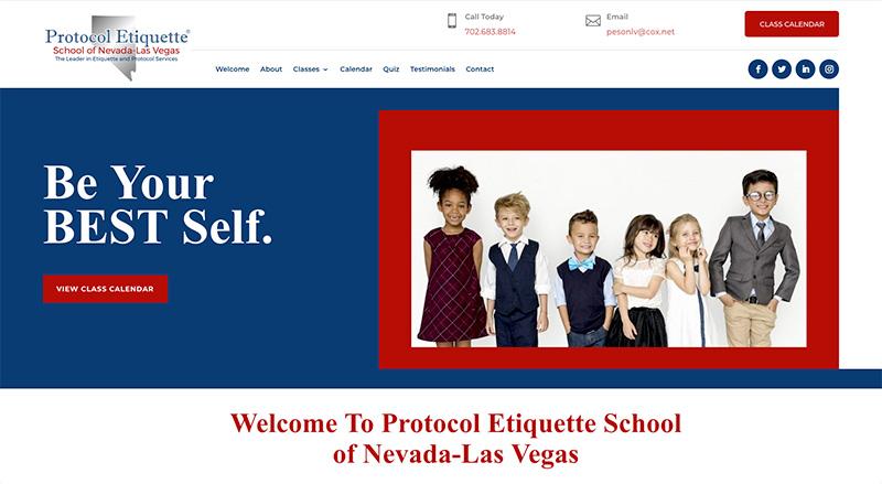 PESON Las Vegas Website