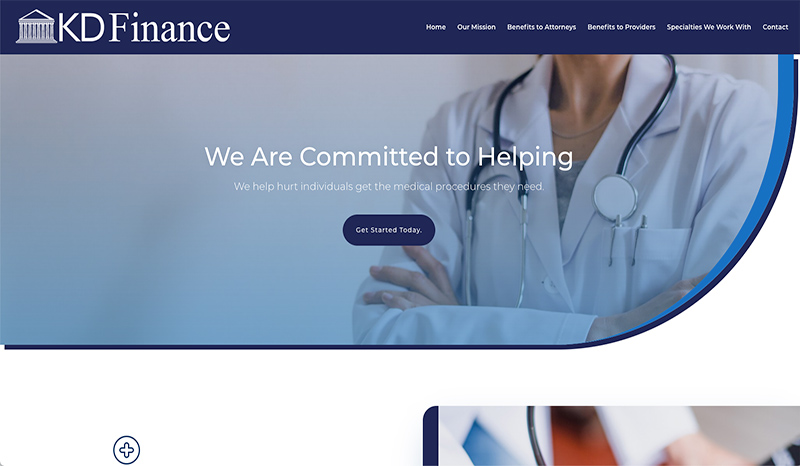 KD Finance Website